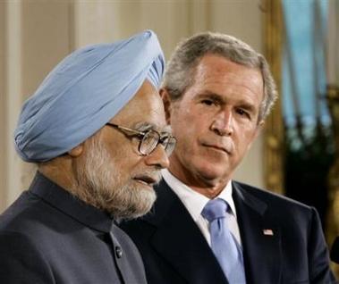 Singh und Bush vereinbaren Atom-Abkommen