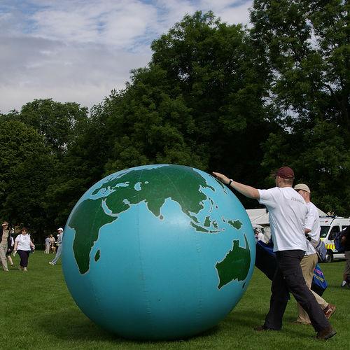 Weltweite Probleme wie der Klimawandel lassen sich nicht von einzelnen Staaten lösen