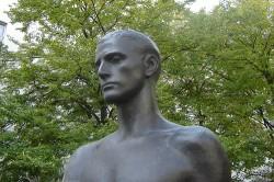 Das Stauffenberg-Denkmal in Berlin