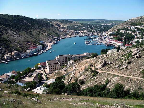 Die Besiedlung der Krim hat eine Jahrtausende alte Tradition - wie hier in Baklava.