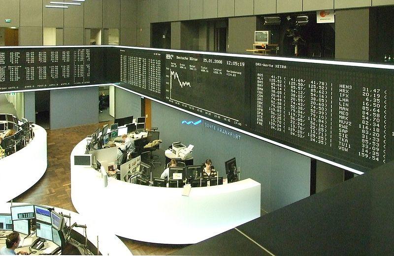 Börse: Wie auf der Börse bestimmen auch bei wahlstreet.de Angebot und Nachfrage den Preis einer Aktie, anhand dessen man den Stimmenanteil prognostizieren kann
