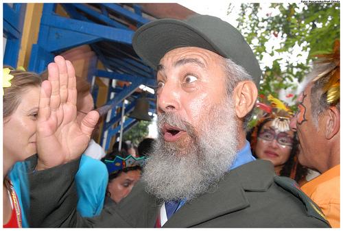 Castro-Doppelgänger? Wer will, mag Parallelen erkennen