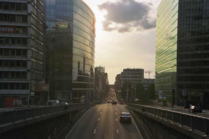 Van Rompuys neuer Arbeitsplatz ist nicht weit von seinem neuen entfernt. Blick ins Brüsseler Europaviertel.