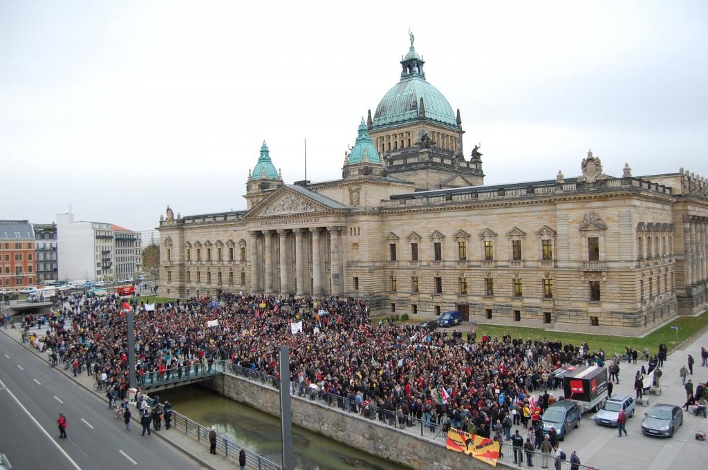 Der Bildungsstreik vor dem Bundesverwaltungsgericht