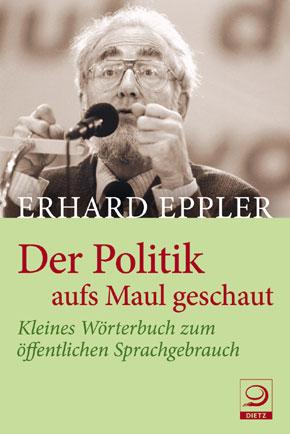 Engagierter Diskurs über den Diskurs: Erhard Epller