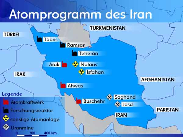 Das Problem der USA: Proliferation im Iran