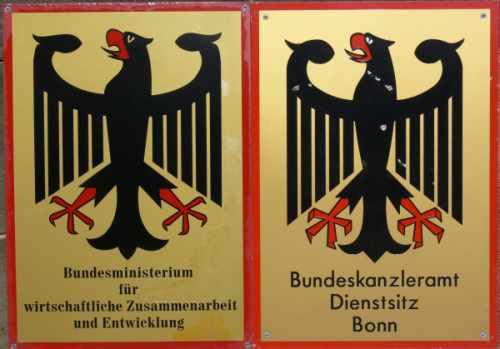 Große Teile des Beamtenapparats sitzen noch in Bonn.
