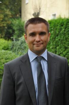 Palvo Klimkin, der Botschafter der Ukraine.