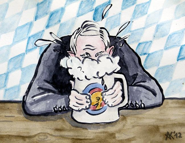 Karikatur Nockherberg
