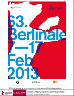 Poster der Berlinale 2013