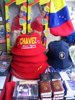 Chávez Kult: Während seiner Zeit als Präsident wurde Chávez zum Inbegriff personalisierter Politik