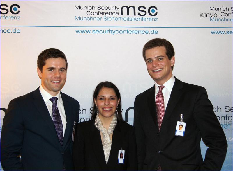 Die Junior Ambassadors auf der 49. Münchner Sicherheitskonferenz