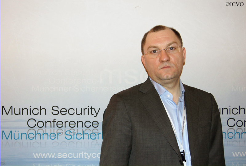 Der Young Leader Ruslan Pukhov: Europa sei nicht der wichtigste Fokus für Russland.