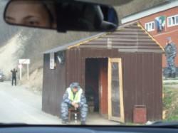 Tschetschenischer Checkpoint.