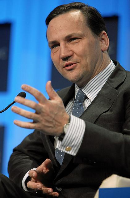 Der polnische Aussenminister Radoslaw Sikorski.