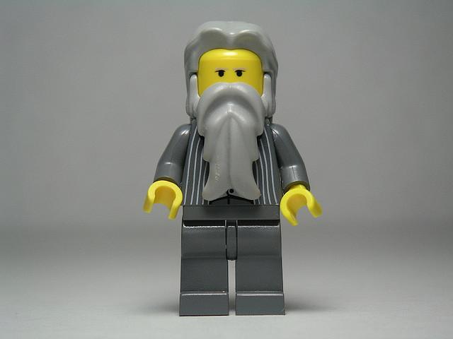Die Ikone aus kapitalistischer Sicht: Marx als potentielles Lego-Männchen
