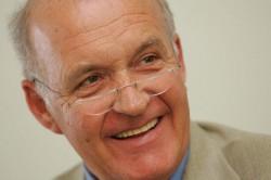 Der Verfechter des bedingumngslosen Grundeinkommens: Götz Werner