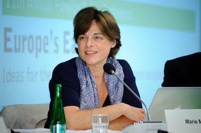 Die französische Russland-Expertin Marie Mendras