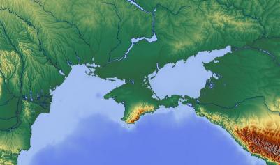 Die Halbinsel Krim ist nicht nur geographisch stark mit der Ukraine verflochten.