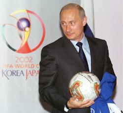 Wladimir Putin im Mai 2002.