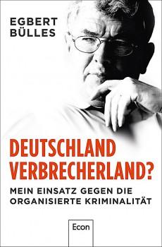 """""""Deutschland Verbrecherland"""" Buch-Cover"""