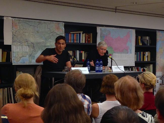 Boris Reitschuster und Klaus Bednarz im Lew-Kopelew-Forum.