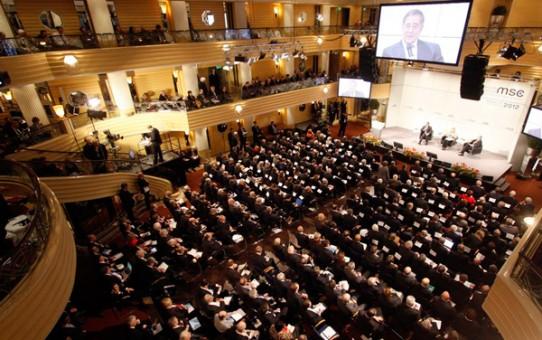 Die Münchner Sicherheitskonferenz findet jedes Jahr statt. Zu Gast sind hochrangige Politiker aus aller Welt.