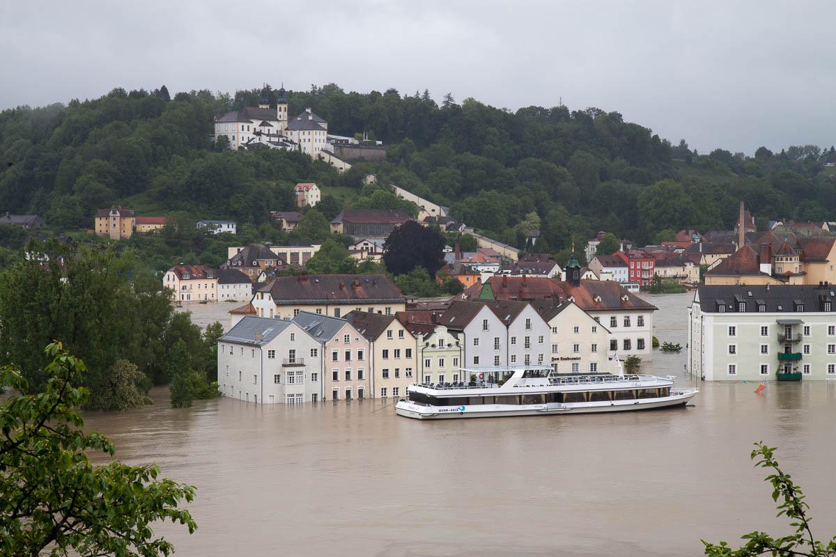 Vorteil steigender Meeresspiegel - Städtereisen per Schiff