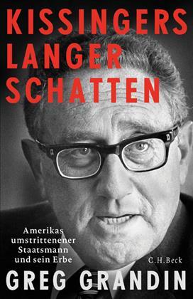 Buchcover Biographie Kissinger von Greg Grandin