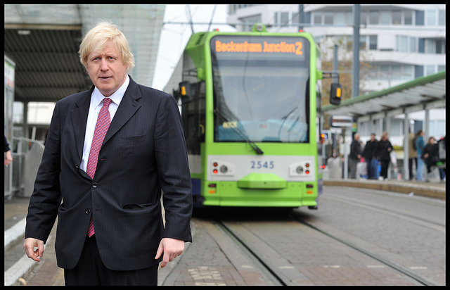 """Vote Leave"" campaigner Boris Johnson"