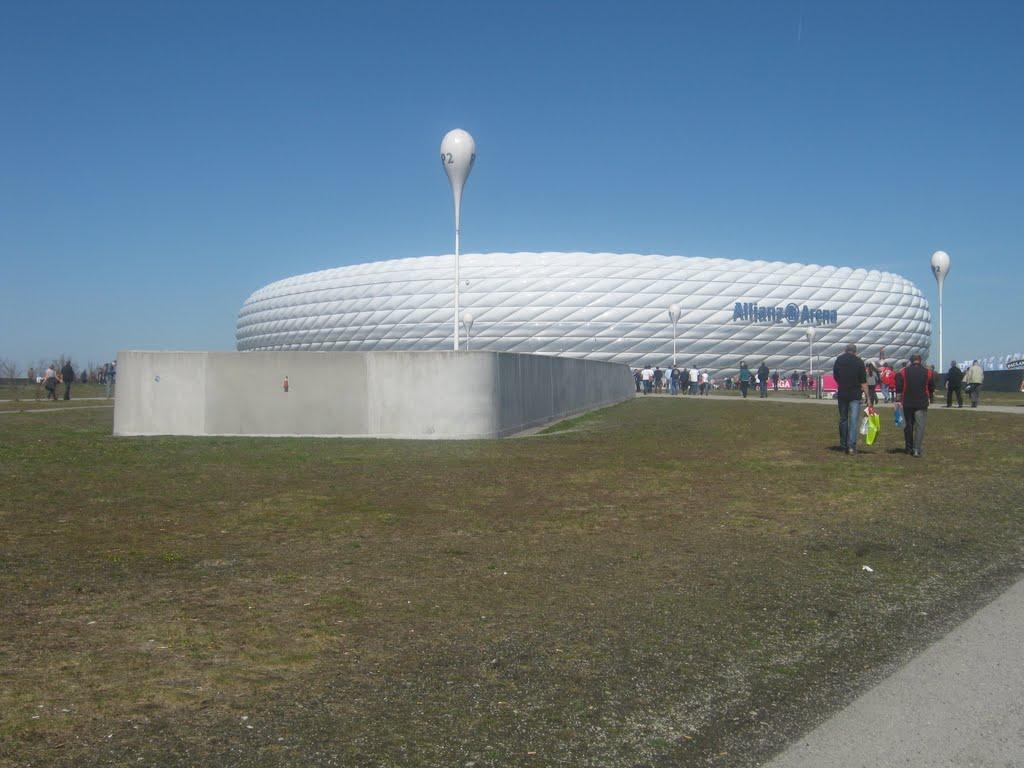 Allianzarena in München - Ancelottis neue sportliche Heimat