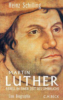 Cover Luther Biographie von Heinz Schilling