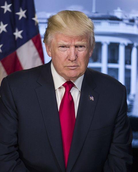 Offizielles Foto zur Amteinführung des Präsidenten