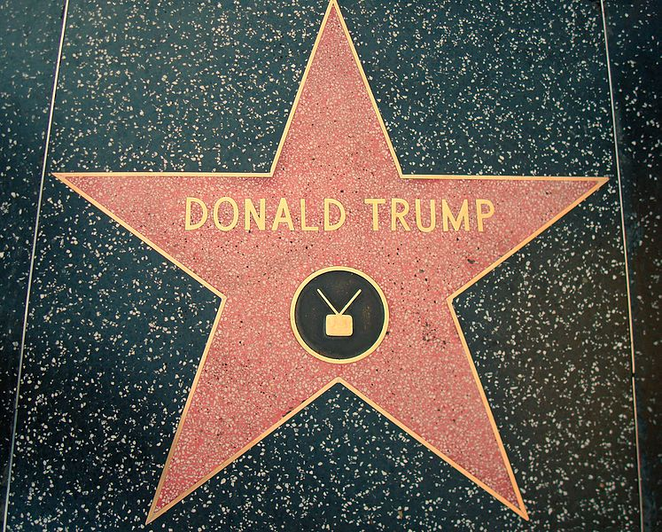 Hollywood Stern für Donald Trump 2007