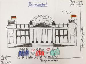 "Rahmenszenario ""Beeinander"" des BIP Kreativitätsgymnasiums Leipzig"