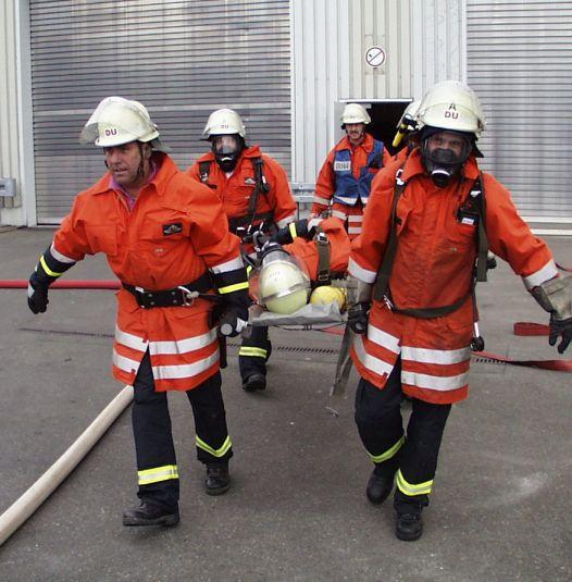 CrossFit dient in den USA unter anderem als Fitmacher für Feuerwehrleute.